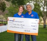 Idaho Re-Boot Camp Glanbia donation